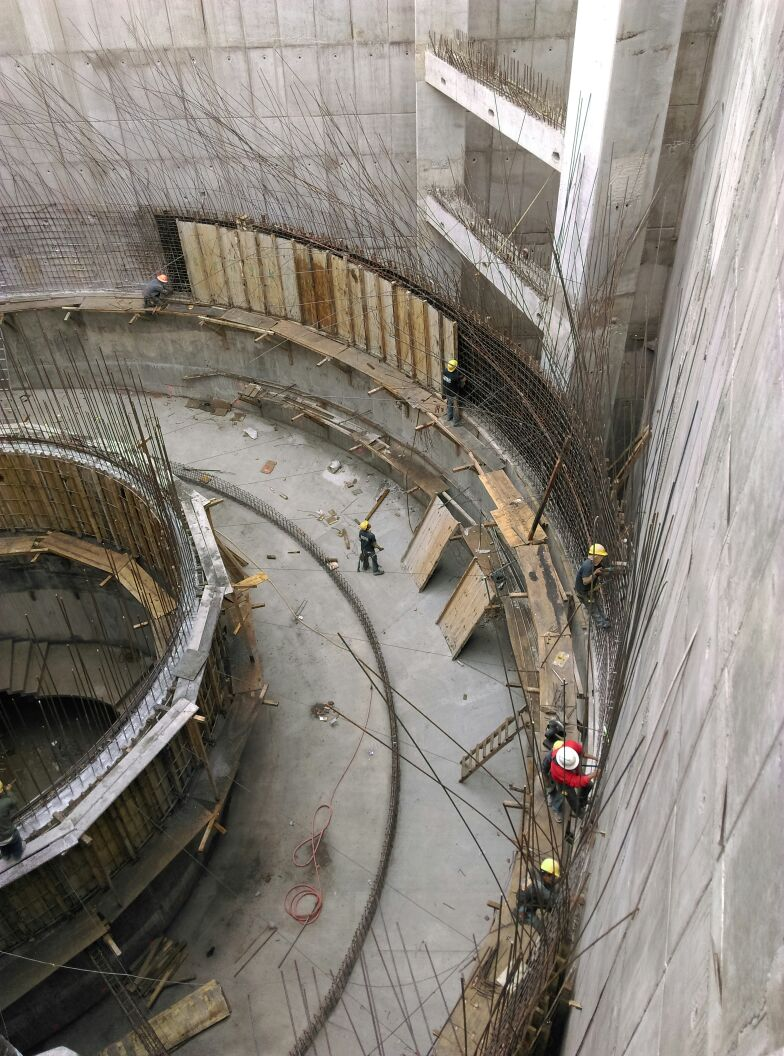 Fabricacion Muro Semicilindrico Encinos